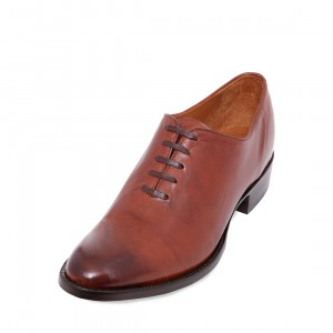 1 Piece Oxford Burnished Kangaroo Shoe