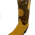 #994006 WCustom Mustard Sueded Gator