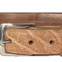 Belt Cognac Elephant