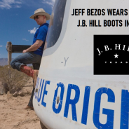 FIRST COWBOY BOOTS IN SPACE