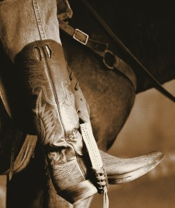 J.B. Hill Riding Boot / Shark