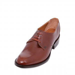 Lace-up Oxford Shoe Calf Skin