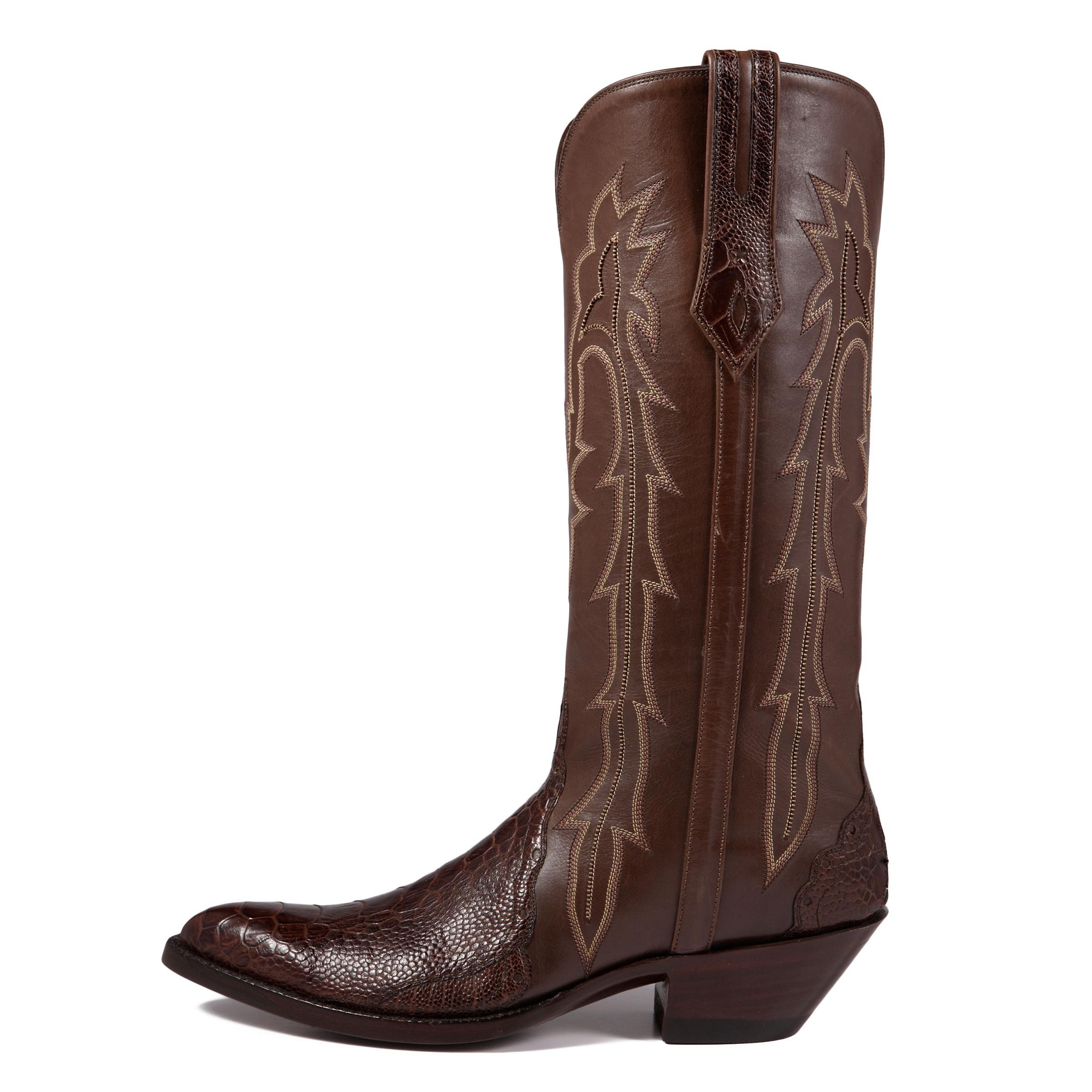 liana ostrich leg triad j b hill boot company j b