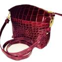 Red Alligator Bag
