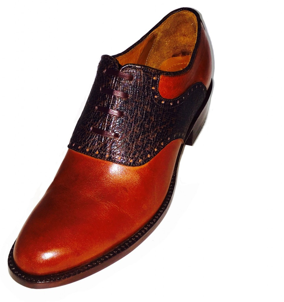 Saddle Warthog Shoe