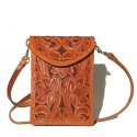 Tooled Cross Body Bag (3)