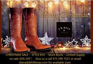 CHRISTMAS 810 Sale